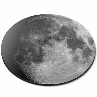 Round Mouse Mat - Awesome Moon Planet Space NASA Office Gift #8939