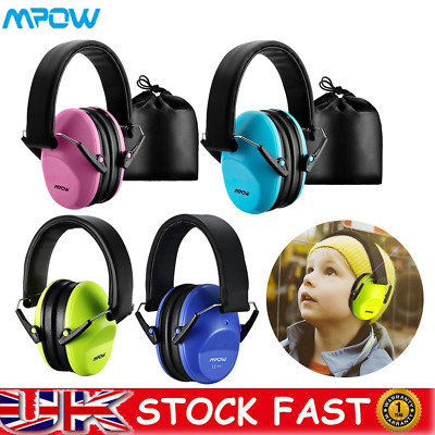 Mpow Ear Defenders Kids Toddlers Hearing Protect Autism Noise Reduction Earmuffs