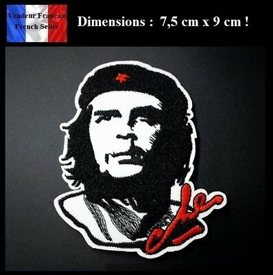 Écusson Brodé Thermocollant NEUF ( Patch Embroidered ) - Che Guevara ( Ref 1 )