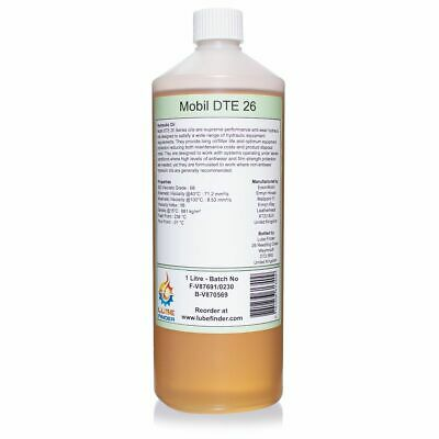 1L Mobil DTE 26 ISO VG 68 Hydraulic Oil