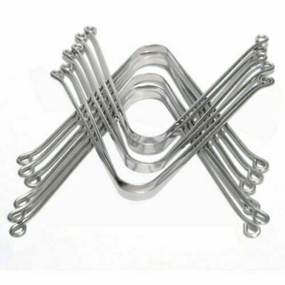 Stainless Steel Tongue / Mouth Cleaner Scraper Oral Hygiene - F/Shipping