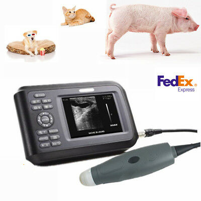 Pro Veterinary Portable Vet Ultrasound Scanner Digital Machine For Animals