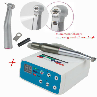 MicromotorDental  Brushless Motor+1:5 speed Growth Contra Angle Handpiece Clinic
