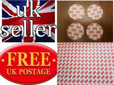 3M Self Adhesive Magnetic tape strips  discs  22mm round x 1.5mm thick x 25 dots