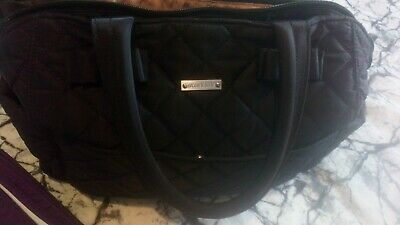 Black Storksak Changing Bag And Changing Bag