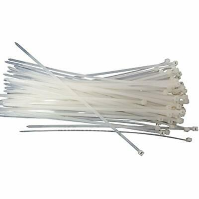 Cable Ties NiftyPlaza 10 Inch - 100 Pack UV Weather Resistant HEAVY DUTY 75 Zip