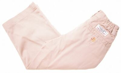 POLO RALPH LAUREN Boys Chino Trousers 12-18 Months W18 L13 Beige Cotton  HY09