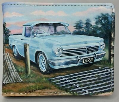 Eh Holden Blue Ute (Rfid Protected)  Mans -Wallet -