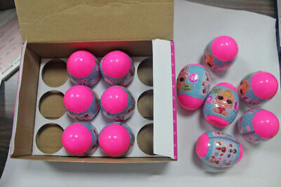 12PCS/Set Surprise DOLL SERIES 1 Balll Collectible LOL Outrageous Toy Kid Gift #