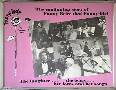 Cinema Poster: FUNNY LADY 1975 (Quad) Barbra Streisand James Caan Omar Sharif