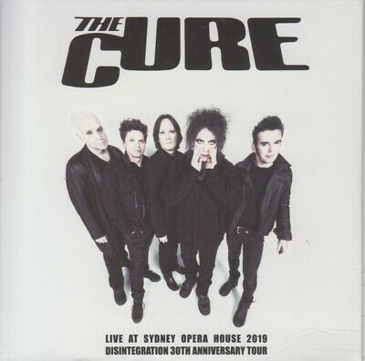 """The Cure """" Live At Sydney Opera House 2019, 2 Cd's Digipack """""""