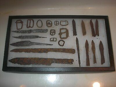 medieval excavated weapons ect.