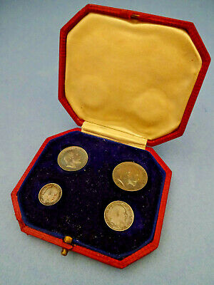 Edward Viii Maundy Money 4 Coin Boxed Set 1903 In Original Box.