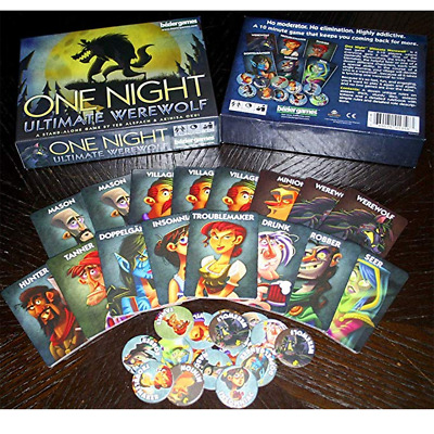 One Night Ultimate Werewolf - Board Game Brand New & Sealed Gifts Toys UK UK