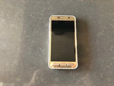 Used Samsung Galaxy S7 Active SM-G891A 32GB Gold Unlocked - STUCK SIM TRAY