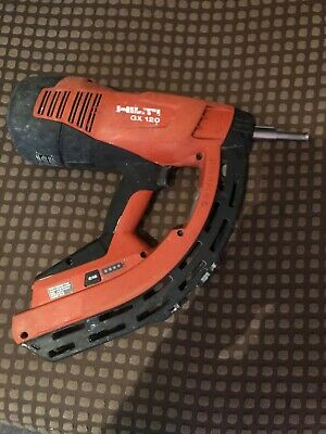 Hilti GX120 Gas Actuated Nail Gun Fastening Tool Concrete Steel no Battery Neede