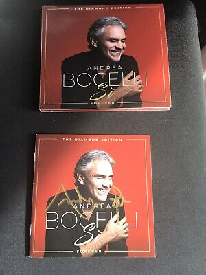 Genuine Signed Andrea Bocelli SI Forever Limited Edition Album Cd 2019