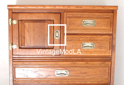 RARE! Young Hinkle OUTRIGGER Collection Ice Box Dresser Door Pull Drawer Handle