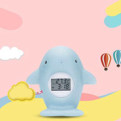 Baby Bath Infant Shower Electronic Cartoon Water Thermometer Room Alarm Toy
