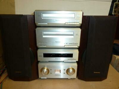 Technics Hd550 Component Stereo System With Remote-Superb Quality