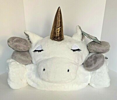 """Unicorn Area Rug by Frolics Kids Collection Gray//White 43/""""x30/"""" Very Cute"""