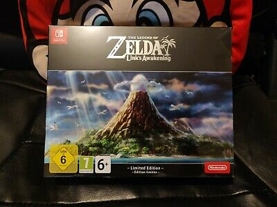 The Legend of Zelda Link's Awakening Limited Edition Nintendo Switch SEALED