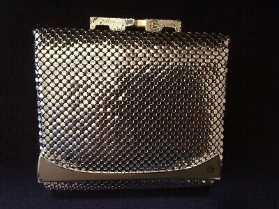 Genuine Vintage Gold Glomesh Wallet/Purse Like New
