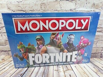 New Monopoly Fortnite Edition Board Game 2018 Version - New Factory Sealed