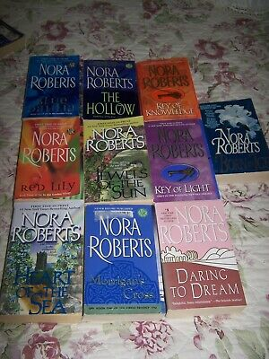 Nora Roberts - 10 paperbacks for $10 - Buy now!