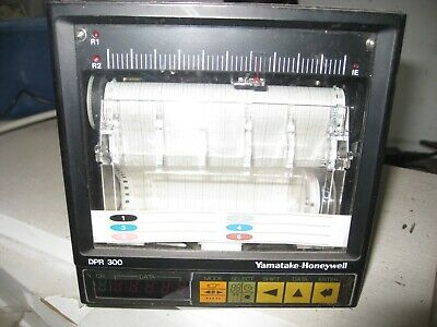 Yamatake Honeywell 6 Pen Digital Chart Recorder DPR 300 FREEPOST