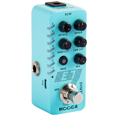 Mooer E7 Synth Polyphonic Guitar Synthesizer Pedal Just Released New