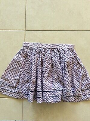 girls gathered skirt, country road, size 7