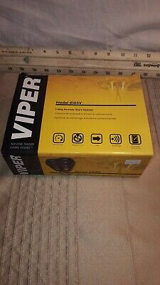 New Viper 4105V 1-Way Remote Start System Car Key less Entry Starter