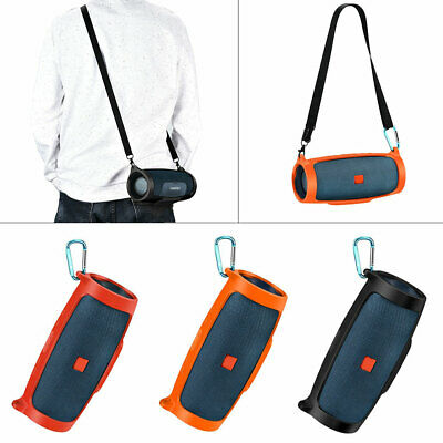 for JBL charge4 Bluetooth Speaker Portable Mountaineering Silicone Case Cover!
