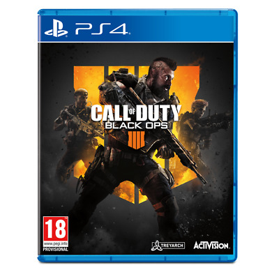 Call of Duty Black Ops 4  PS4 PlayStation 4 Game PAL Version New Sealed In Stock