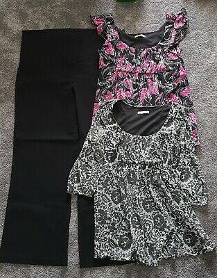 Maternity Bundle Size 16 Target Tops And Pants
