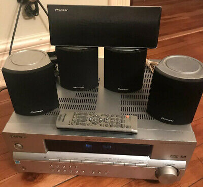 Pioneer SX-315 AV 5.1 Home Theater System Receiver 5 Speakers Tested!