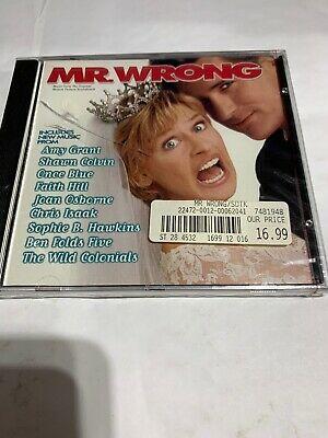 Mr. Wrong by Original Soundtrack (CD, Feb-1996, Hollywood)