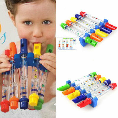 Children Kid's Bath Time Water Flutes Musical Toy Fun Whistle Game Hot