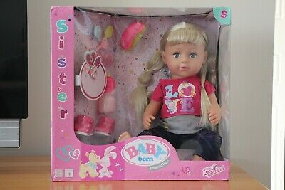 Zaph Creation Baby Born Interactive Sister Doll