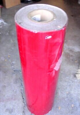 """Red High Intensity Reflective Sheeting 36"""" x 50 Yd"""