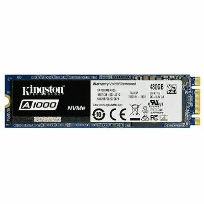 NEW Kingston A1000 480GB M.2 2280 Internal SSD Solid State Drive NVMe Genuine