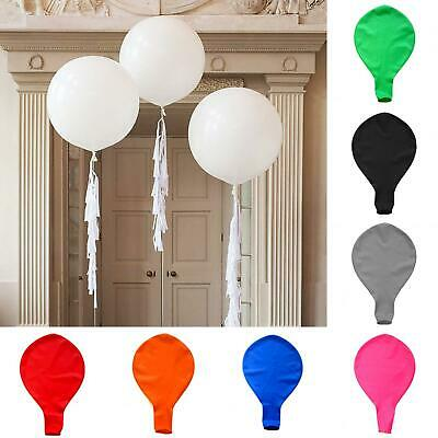 AM/_ 31inch Latex Big Thick Inflatable Balloon Romantic Wedding Birthday Part FJ