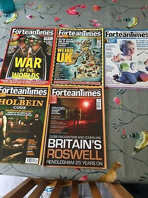 5 Fortean Times Back Issues Magazine Job Lot Bundle From 2005.