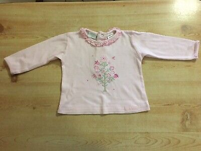 Papoose Pink Long Sleeve Top Sz 00