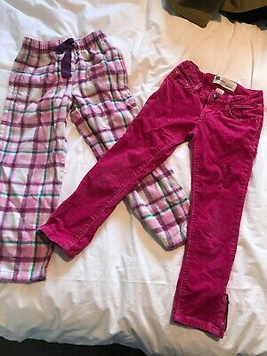 Girls Bundle Trousers 6-7 Boden And Gap