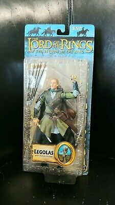 ToyBiz Return Of The King Legolas From The Lord Of The Rings With Rohan Armor