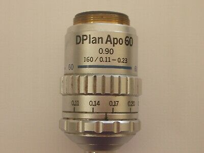 Olympus DPlanApochromat 60x Objective For BH2 Microscope