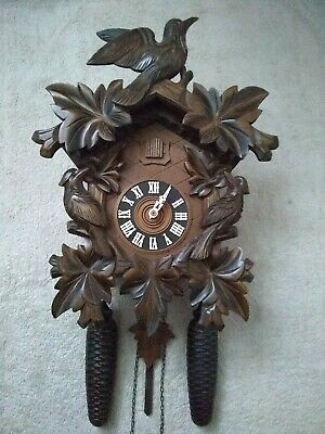 Black Forest large  8 Day Mechanical Cuckoo Clock  in    superb Condition