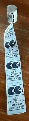 A VINTAGE Roll of CC41 Labels. St. MICHAEL (MARKS & SPENCER.) C.1942 - 1952.
